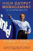 Cover-Bild zu High Output Management von Grove, Andrew S.