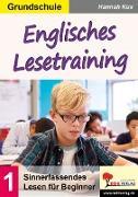 Cover-Bild zu Englisches Lesetraining / Grundschule von Thierfelder, Prisca