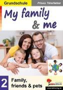 Cover-Bild zu My family & me / Grundschule (eBook) von Thierfelder, Prisca