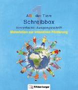 Cover-Bild zu ABC der Tiere - Schreibbox, Vereinfachte Ausgangsschrift von Kresse, Tina