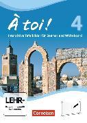 Cover-Bild zu À toi! 4. Vier- und fünfbändige Ausgabe. Interaktive Tafelbilder für Whiteboard und Beamer