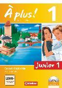 Cover-Bild zu À plus !, Nouvelle édition - Junior, Band 1: 1. Lernjahr, Junior 1, Carnet d'activités mit CD-Extra und DVD-ROM, Mit eingelegtem Förderheft von Gregor, Gertraud