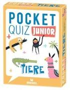Cover-Bild zu Pocket Quiz junior Tiere von T & T media world - Die Ideealisten