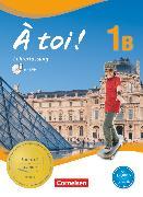 Cover-Bild zu À toi !, Fünfbändige Ausgabe, Band 1B, Schülerbuch - Lehrerfassung mit Video-DVD, Kartoniert von Gregor, Gertraud