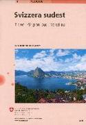 Cover-Bild zu Landeskarte der Schweiz 4. Südost-Schweiz / Svizzera Sudest. 1:200'000