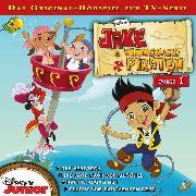 Cover-Bild zu Disney - Jake und die Nimmerland Piraten - Folge 1 (Audio Download) von Bingenheimer, Gabriele