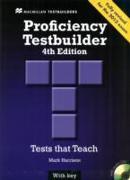 Cover-Bild zu Proficiency Testbuilder 2013 Student's Book +key Pack von Harrison, Mark