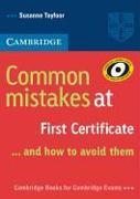 Cover-Bild zu Common Mistakes at First Certificate von Tayfoor, Susanne