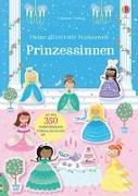 Cover-Bild zu Meine glitzernde Stickerwelt: Prinzessinnen von Robson, Kirsteen