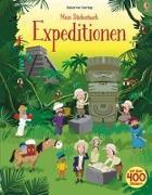 Cover-Bild zu Mein Stickerbuch: Expeditionen von Watt, Fiona