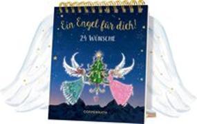 Cover-Bild zu Tischkalender mit Flügeltüren - Ein Engel für dich! von Riese, Anna (Illustr.)