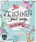 Cover-Bild zu Zeichnen - Ganz easy - Dein 30-Tage-Workshop von Kubik, Anne