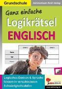 Cover-Bild zu Ganz einfache Logikrätsel Englisch (eBook) von Autorenteam Kohl-Verlag