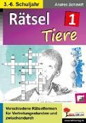 Cover-Bild zu Rätsel / Band 1: Tiere (eBook) von Kohl-Verlag, Autorenteam