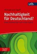 Cover-Bild zu Nachhaltigkeit für Deutschland? Frag doch einfach! von Hauff, Michael Von