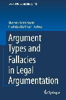 Cover-Bild zu Dahlman, Christian (Hrsg.): Argument Types and Fallacies in Legal Argumentation