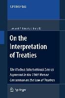 Cover-Bild zu Linderfalk, Ulf: On the Interpretation of Treaties