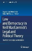 Cover-Bild zu Menéndez, Agustín José (Hrsg.): Law and Democracy in Neil MacCormick's Legal and Political Theory (eBook)