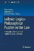 Cover-Bild zu Artosi, Alberto (Hrsg.): Leibniz: Logico-Philosophical Puzzles in the Law (eBook)