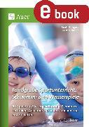 Cover-Bild zu Fundgrube Sportunterricht: Schwimm- & Wasserspiele (eBook) von Büngers, Beate