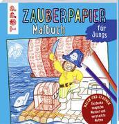 Cover-Bild zu Zauberpapier Malbuch für Jungs von Pautner, Norbert