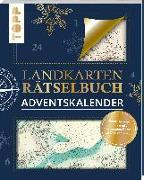 Cover-Bild zu Landkarten-Rätsel Adventskalender von Pautner, Norbert