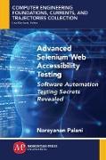 Cover-Bild zu Advanced Selenium Web Accessibility Testing (eBook) von Palani, Narayanan