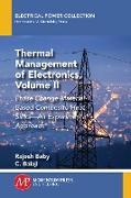 Cover-Bild zu Thermal Management of Electronics, Volume II (eBook) von Baby, Rajesh