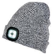 Cover-Bild zu LED-Mütze - grau
