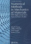 Cover-Bild zu Numerical Methods in Mechanics of Materials (eBook) von Chong, Ken P.