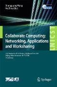 Cover-Bild zu Collaborate Computing: Networking, Applications and Worksharing (eBook) von Wang, Shangguang (Hrsg.)