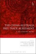 Cover-Bild zu The China-Australia Free Trade Agreement (eBook) von Picker, Colin (Hrsg.)