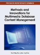 Cover-Bild zu Chen: Methods and Innovations for Multimedia Database Content Management