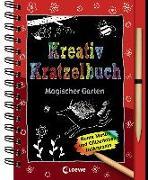 Cover-Bild zu Kreativ-Kratzelbuch: Magischer Garten von Loewe Kratzel-Welt (Hrsg.)