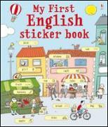 Cover-Bild zu My First English Sticker Book von Meredith, Susan