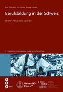 Cover-Bild zu Berufsbildung in der Schweiz von Wettstein, Emil
