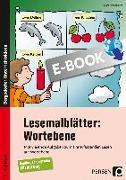 Cover-Bild zu Lesemalblätter: Wortebene (eBook) von Kirschbaum, Klara