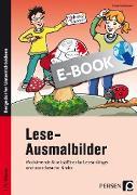 Cover-Bild zu Lese-Ausmalbilder (eBook) von Kirschbaum, Klara