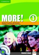 Cover-Bild zu Level 1: Student's Book with CD-ROM - More!