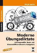 Cover-Bild zu Moderne Übungsdiktate (eBook) von Lascho, Birgit