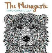 Cover-Bild zu Merritt, Richard (Illustr.): The Menagerie: Animal Portraits to Color