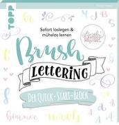Cover-Bild zu Brush Lettering. Der Quick-Start-Block von Albers, Kirsten