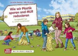 Cover-Bild zu Wie wir Plastik sparen und Müll reduzieren. Kamishibai Bildkartenset von Boetius, Jeanette