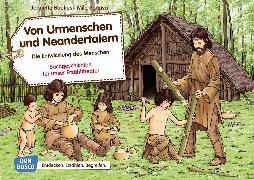 Cover-Bild zu Von Urmenschen und Neandertalern. Die Entwicklung des Menschen. Kamishibai Bildkartenset von Boetius, Jeanette