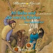 """Cover-Bild zu Die ZEIT-Edition """"Märchen Klassik für kleine Hörer"""" - Ali Baba und die vierzig Räuber und Das Zauberpferd mit Musik von Johann Strauss (Sohn) und Franz Schubert (Audio Download) von Autoren, Diverse"""