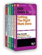 Cover-Bild zu HBR Guides to Being an Effective Manager Collection (5 Books) (HBR Guide Series) (eBook) von Review, Harvard Business
