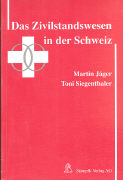 Cover-Bild zu Das Zvilstandswesen in der Schweiz von Jäger, Martin