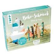 Cover-Bild zu Boho-Schmuckset Wild & Free (Türkis/ Lachs) von Eder, Elke