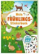 Cover-Bild zu Mein Frühlings-Stickerbuch von Schumacher, Timo (Illustr.)