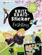 Cover-Bild zu Kritzkratz-Sticker Frühling von Schindler, Eva (Gestaltet)
